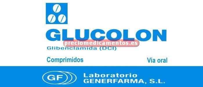 Caja GLUCOLON 5 mg 100 comprimidos