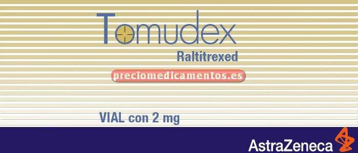 Caja TOMUDEX 2 mg 1 vial 5 ml