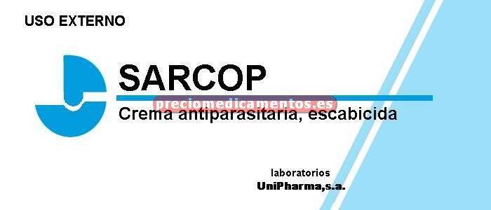 Caja SARCOP 5% crema 40 g