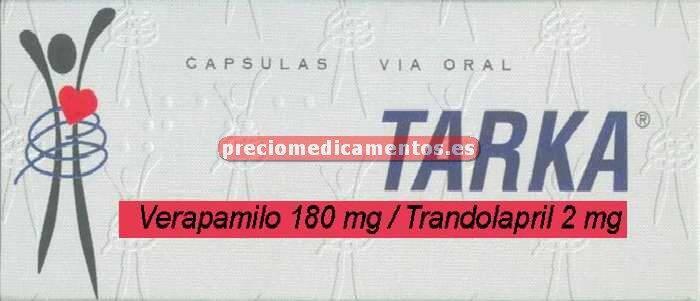 Caja TARKA 180/2 mg 28 cápsulas retard