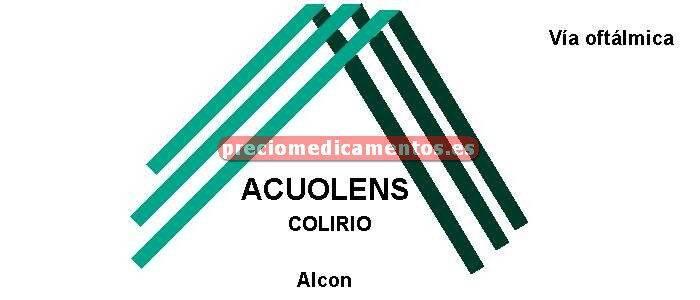 Caja ACUOLENS 0,05/0,3% colirio 30 monodosis sol 0,5 ml