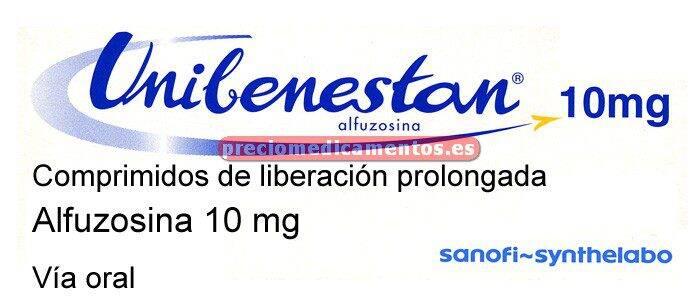 Caja UNIBENESTAN 10 mg 30 comp recub liber prolongada