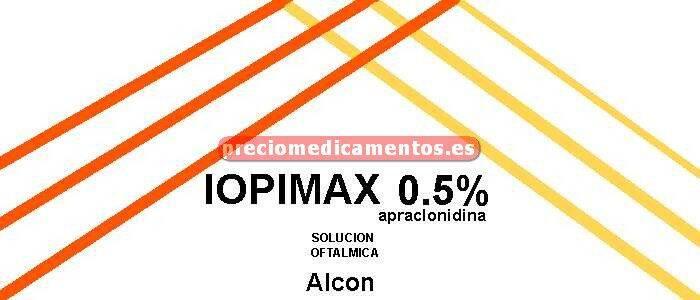 Caja IOPIMAX 1% colirio 2 frascos 0,25 ml