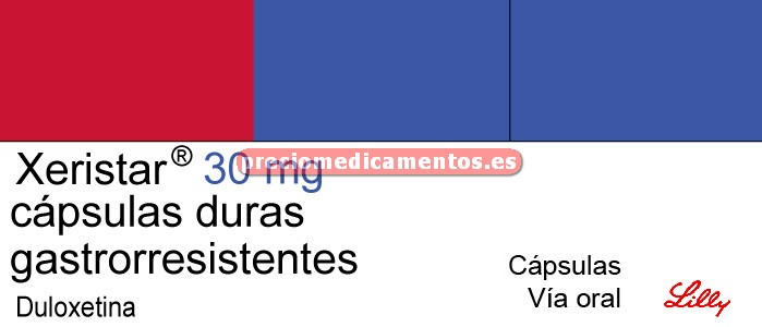 Caja XERISTAR 30 mg 7 cápsulas gastrorresistentes