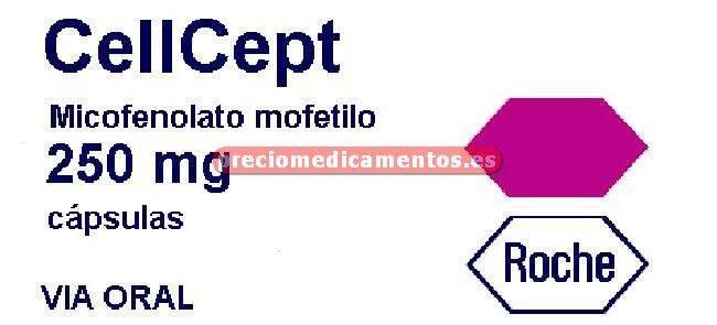 Caja CELLCEPT 250 mg 100 cápsulas