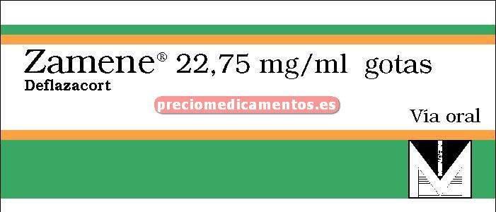 Caja ZAMENE 22.75 mg/ml gotas 13 ml