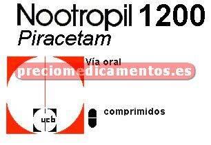 Caja NOOTROPIL 1200 mg 60 comprimidos