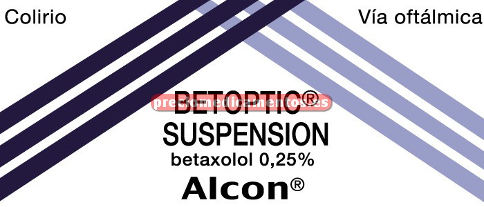 Caja BETOPTIC 0.25% colirio 5 ml