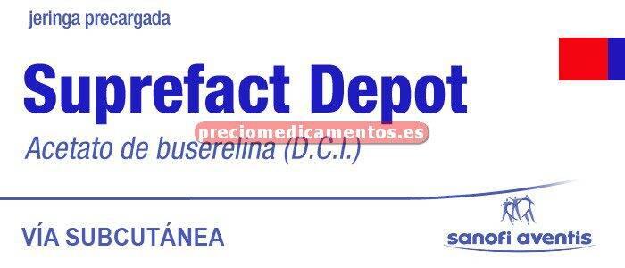 Caja SUPREFACT DEPOT 6,3 mg 1 jeri 2 implantes subcut