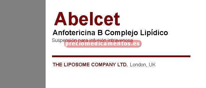 Caja ABELCET 100 mg 10 viales 20 ml
