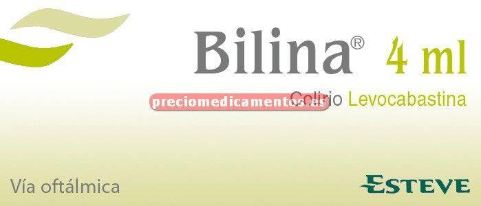 Caja BILINA 0,05% colirio 4 ml