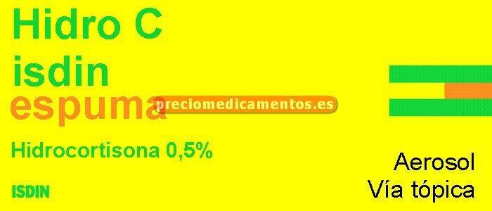 Caja HIDROCISDIN 0.5% espuma cutánea 50 g