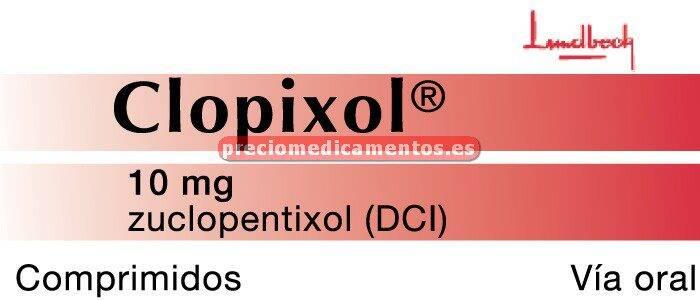 Caja CLOPIXOL 10 mg 50 comprimidos recubiertos