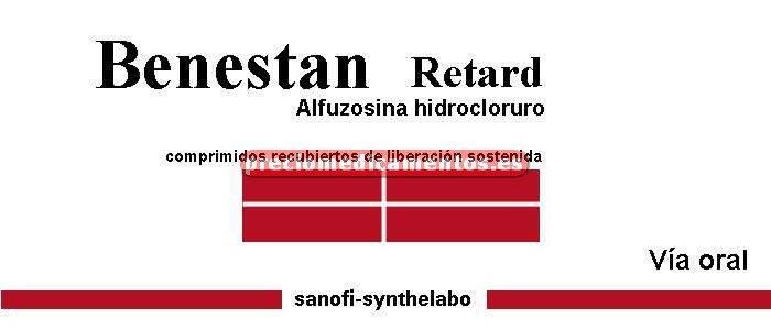 Caja BENESTAN RETARD 5 mg 60 comprimidos recubiertos