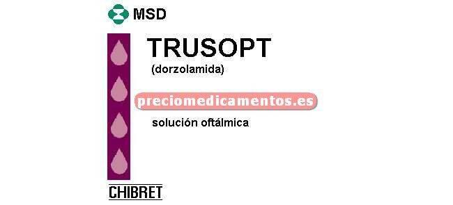 Caja TRUSOPT 2% colirio 5 ml