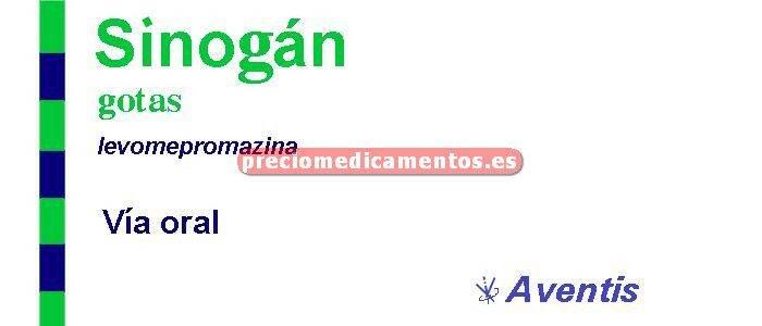 Caja SINOGAN 40 mg/ml solución oral gotas 30 ml