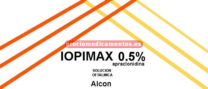 Caja IOPIMAX 0.5% colirio 5 ml