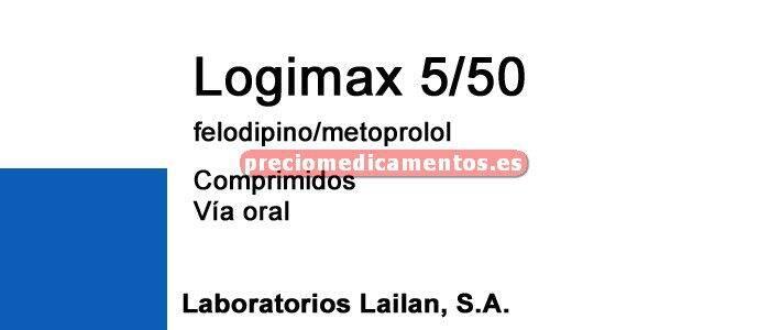 Caja LOGIMAX 50/5 mg 30 comprimidos liber prolongada