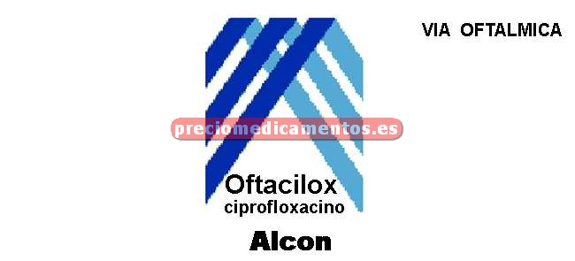 Caja OFTACILOX 0.3% colirio 5 ml