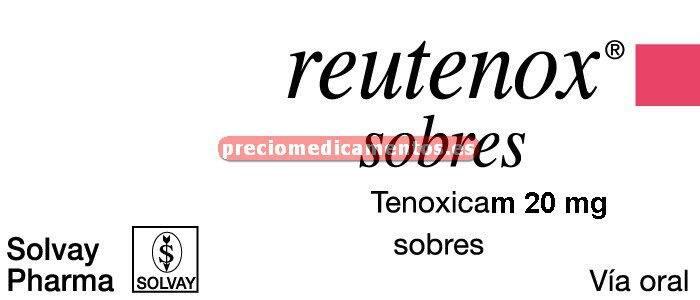 Caja REUTENOX 20 mg 20 sobres
