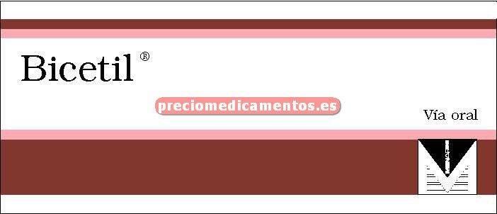 Caja BICETIL 20/12.5 mg 28 comprimidos recubiertos