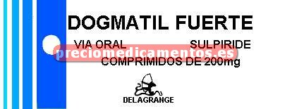 Caja DOGMATIL FUERTE 200 mg 36 comprimidos