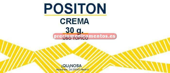 Caja POSITON crema 30 g