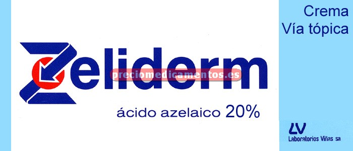 Caja ZELIDERM 200 mg/g crema 30 g