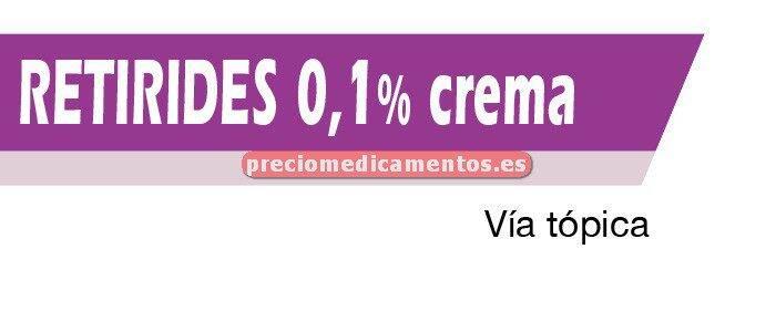 Caja RETIRIDES 0,1% crema 30 g