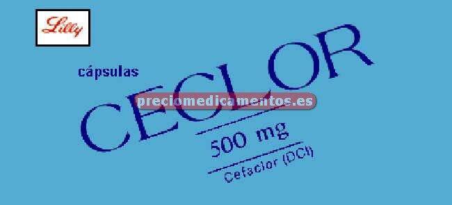 Caja CECLOR 500 mg 30 cápsulas