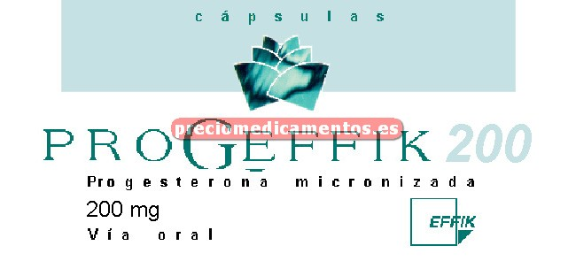 Caja PROGEFFIK 200 mg 60 cápsulas