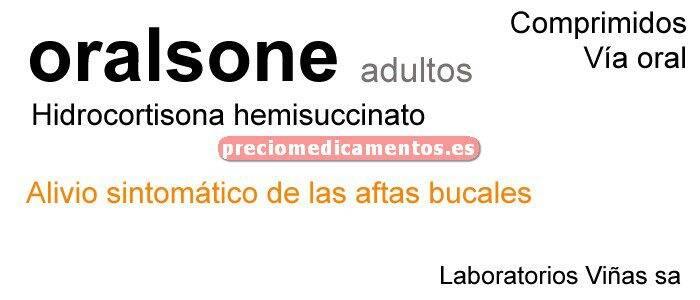 Caja ORALSONE ADULTOS 2,5 mg 12 comprimidos