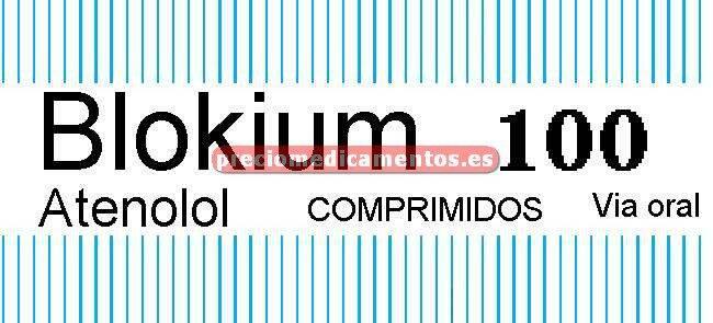 Caja BLOKIUM 100 mg 60 comprimidos