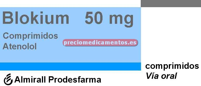 Caja BLOKIUM 50 mg 30 comprimidos