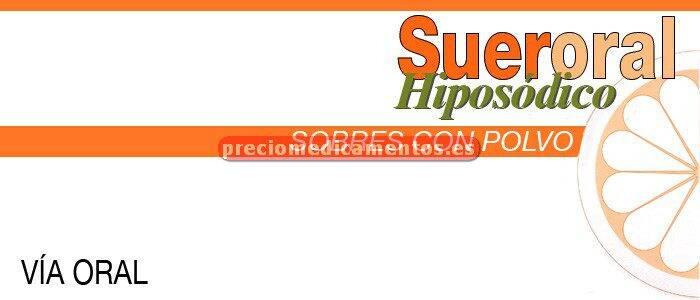 Caja SUERORAL HIPOSODICO 5 sobres