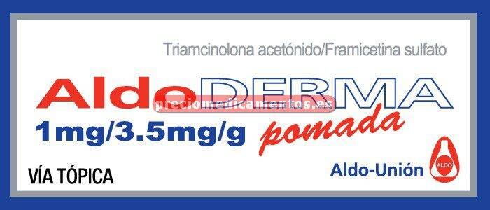 Caja ALDODERMA pomada 30 g