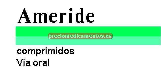 Caja AMERIDE 5/50 mg 20 comprimidos