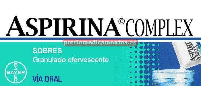 Caja ASPIRINA COMPLEX 10 sobres