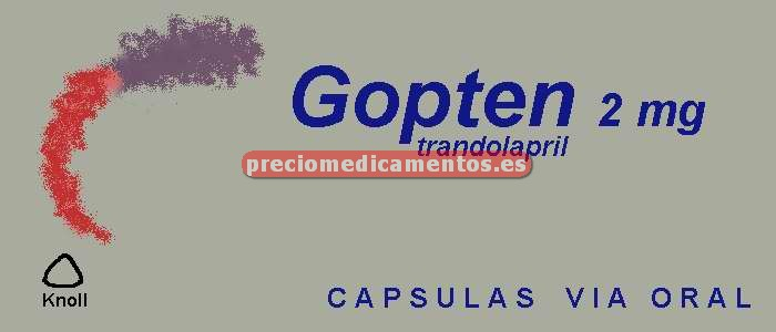 Caja GOPTEN 2 mg 28 cápsulas