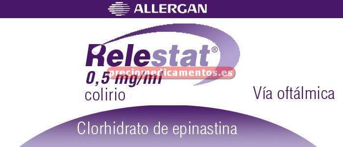 Caja RELESTAT 0,5 mg/ml colirio 5 ml