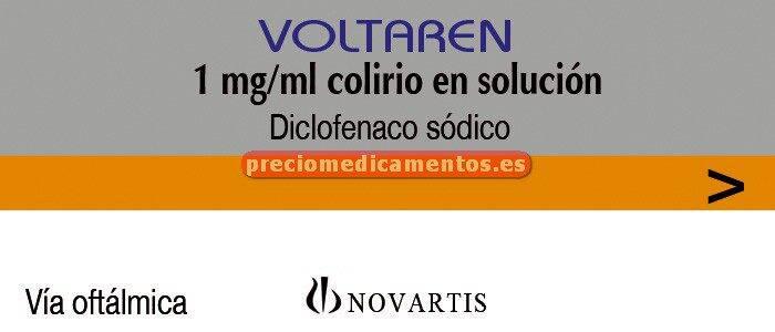 Caja VOLTAREN COLIRIO 0.1% 10 monodosis 0,3 ml
