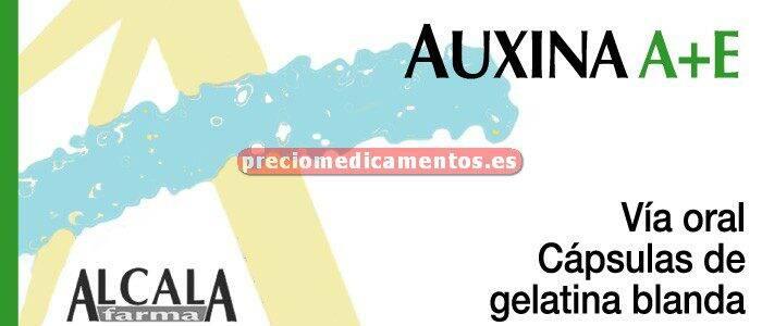 Caja AUXINA A-E 20 cápsulas