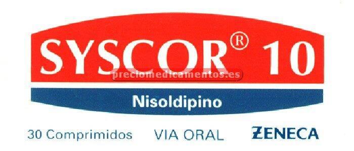 Caja SYSCOR 10 mg 30 comprimidos