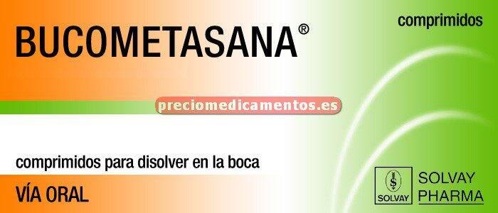 Caja BUCOMETASANA 20 comprimidos disolución oral