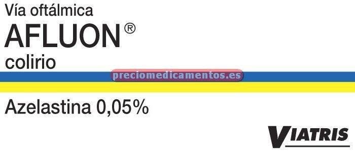 Caja AFLUON 0,05% colirio 6 ml