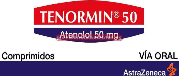 Caja TENORMIN 50 mg 60 comprimidos