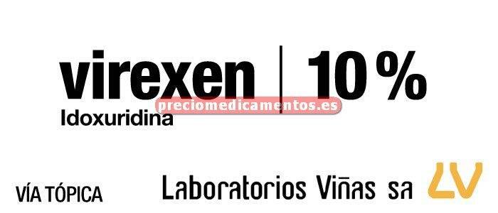 Caja VIREXEN 10% solución 5 ml