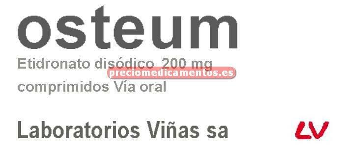 Caja OSTEUM 200 mg 30 comprimidos