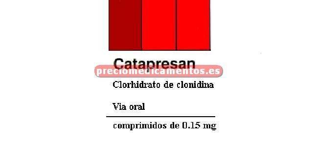 Caja CATAPRESAN 0.15 mg 30 comprimidos