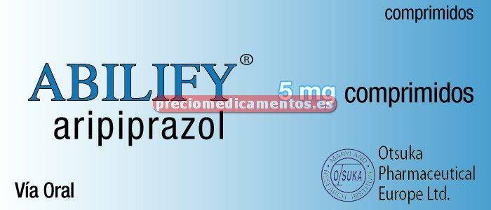 Caja ABILIFY 5 mg 28 comprimidos